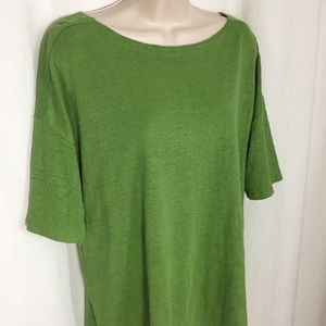Eileen Fisher L Organic Cotton Top